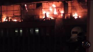 В библиотеке ИНИОН при пожаре обрушилась кровля на площади 1 тыс. кв. м