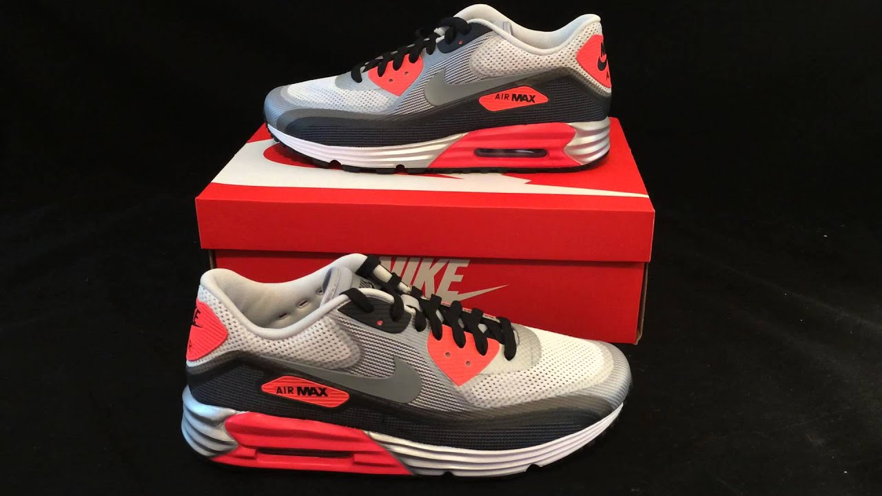 3f7465e2f733 Infrared Nike Air Max 90 Lunar C3.0 Review (Lunar90) - YouTube