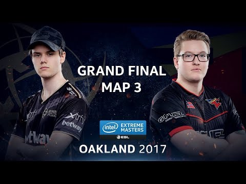 CS:GO - NiP vs. FaZe [Train] Map 3 - GRAND FINAL - IEM Oakland 2017