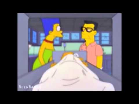 Hans Moleman Thinks Marge Is Talking To Him
