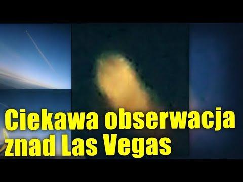 Kolejna niezwykła obserwacja UFO miała miejsce nad Las Vegas!