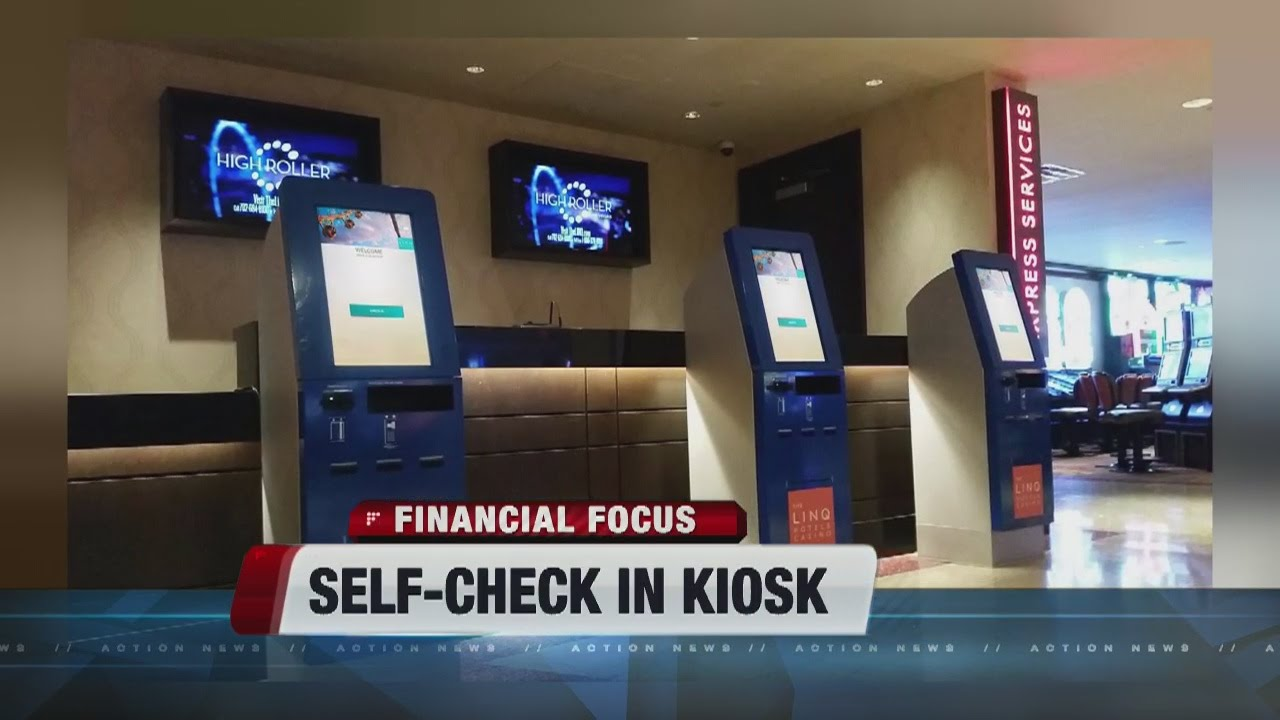 Self Check In Kiosks Coming To Caesars Properties Youtube