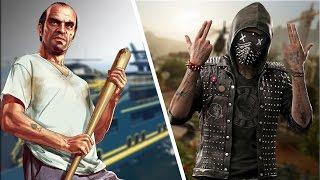Сравнение Watch Dogs 2 и GTA 5