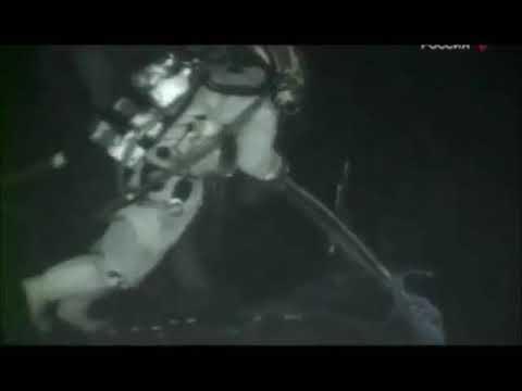 АПРК Курск. Съемки на дне Баренцева моря.