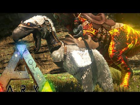 Ark Survival Evolved - ALPHA TERROR BIRD, BADASS CARNO TAMING - Modded Survival Ep57 (Ark Gameplay)