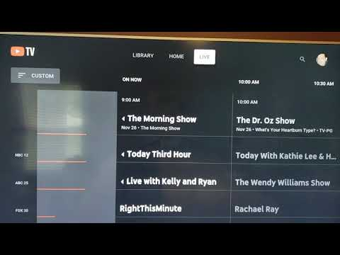 YouTube TV Guide