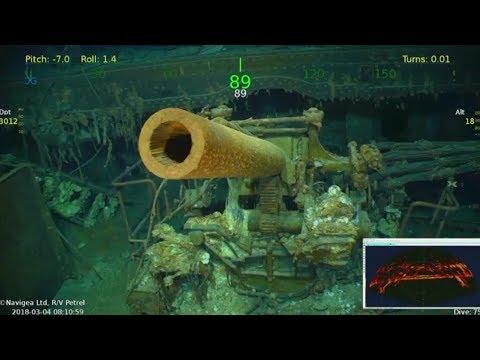 Экспедиция в прошлое: авианосец ВМС США времён Второй мировой обнаружен в Коралловом море