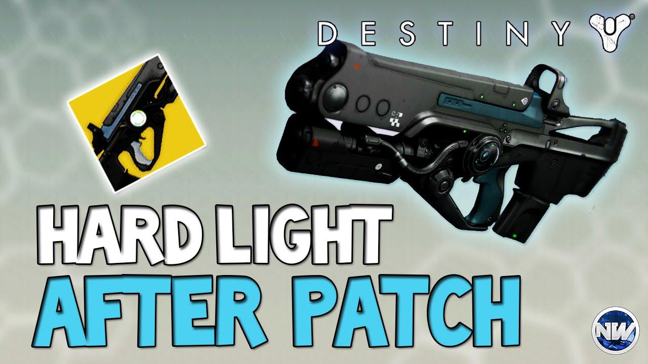 Destiny Hard Light Is A BEAST