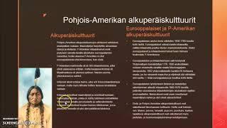 Pohjois-Amerikan alkuperäiskulttuurit