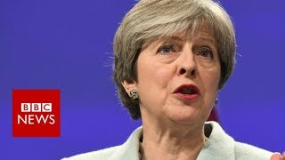 May announces deal in Brexit talks - BBC News