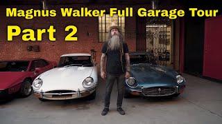 FIRST EVER MAGNUS WALKER FULL PORSCHE GARAGE TOUR | TRANSAXLE