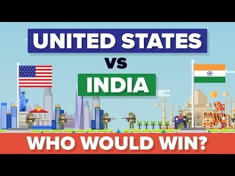 United States (USA) vs India 2017 - Who Would Win - Army / M