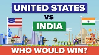 United States (USA) vs India 2017 - Who Would Win - Army / Military Comparison