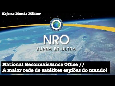 National Reconnaissance Office, a maior rede de satélites espiões do mundo