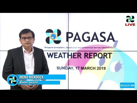 Public Weather Forecast Issued at 4:00 AM March 17, 2019