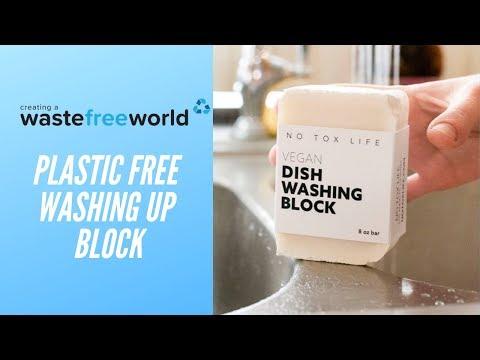 PLASTIC FREE DISH WASHING BLOCK