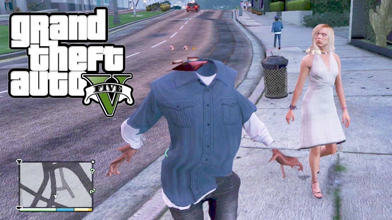 GTA 5 Funny Glitches -...