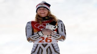 Ester Ledecka obtains the most spectacular result in the history of the Olympic Winter Games.