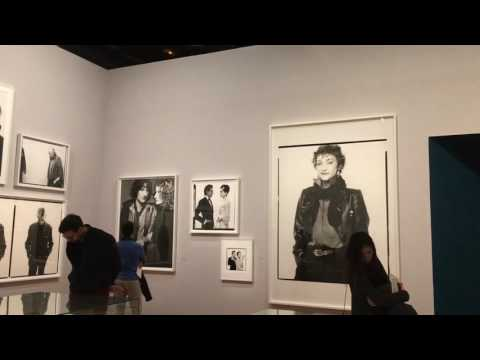 Richard Avedon at Bibliotheque Nationale. Paris.dec16