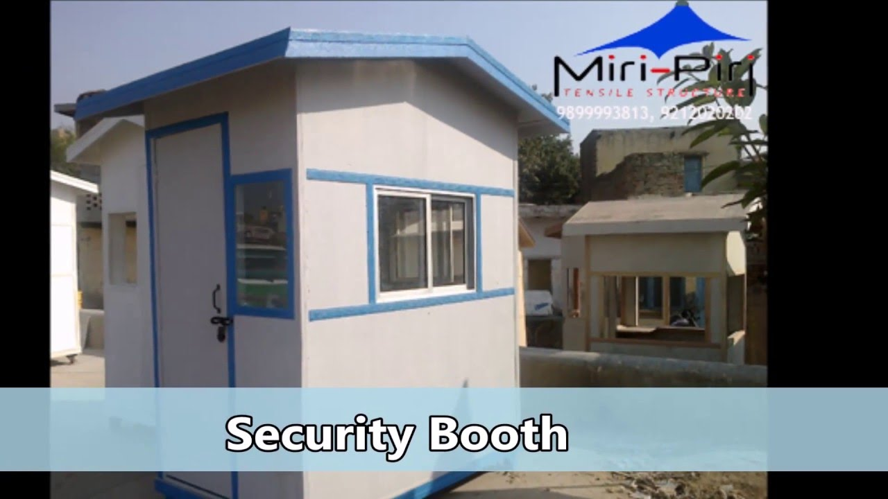 Specialize in Security Guard Room Portacabin Security Cabin