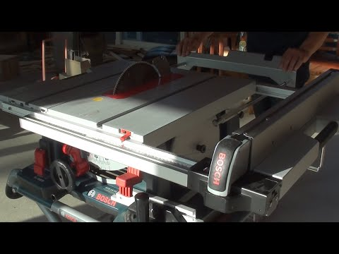 How to Use A Table Saw / Bosch GTS 10XC / 테이블쏘 사용법 / Short Review / 리뷰