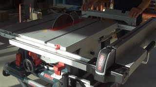 How to Use A Table Saw / Bosch GTS 10XC / 테이블쏘 사용법