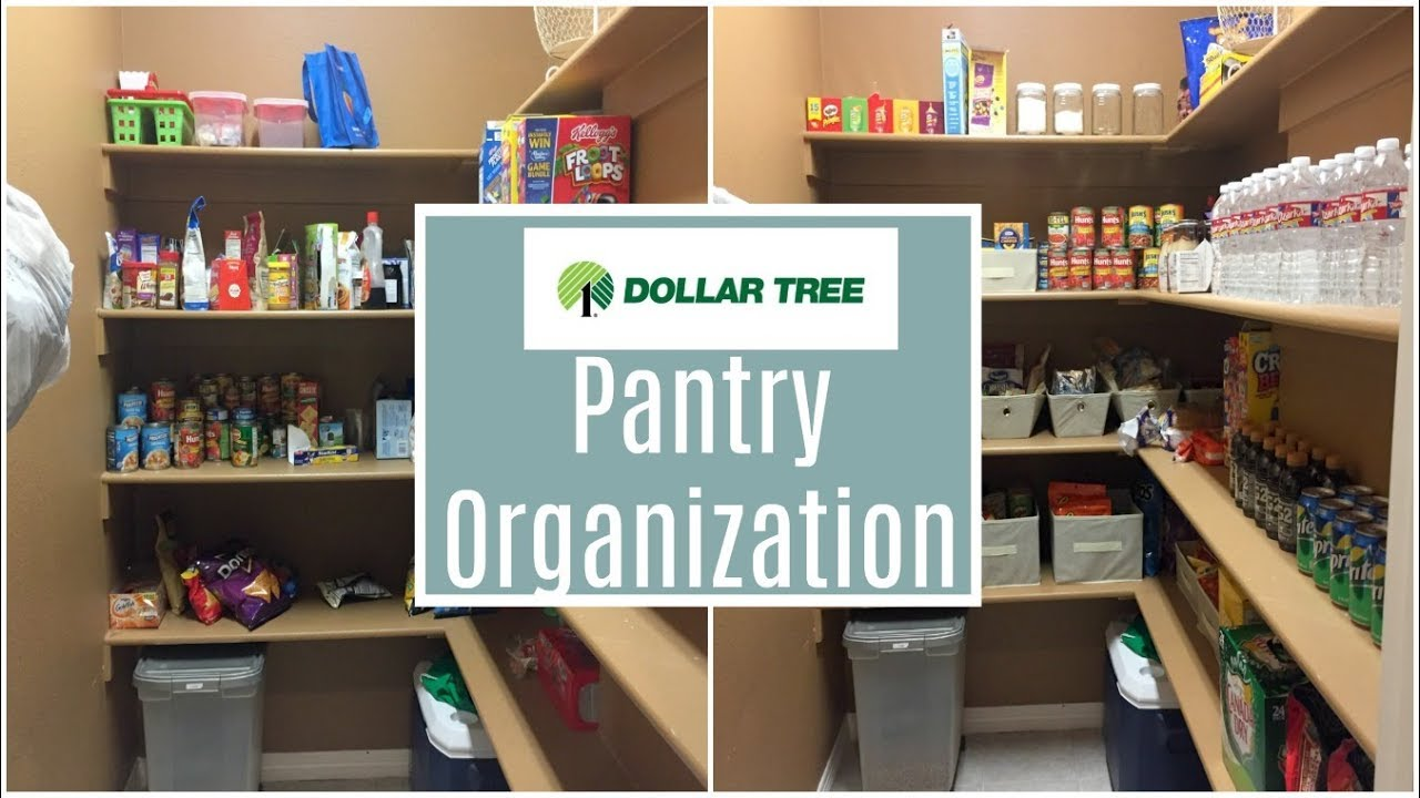 DOLLAR TREE DIY | PANTRY ORGANIZATION | 2018 - YouTube