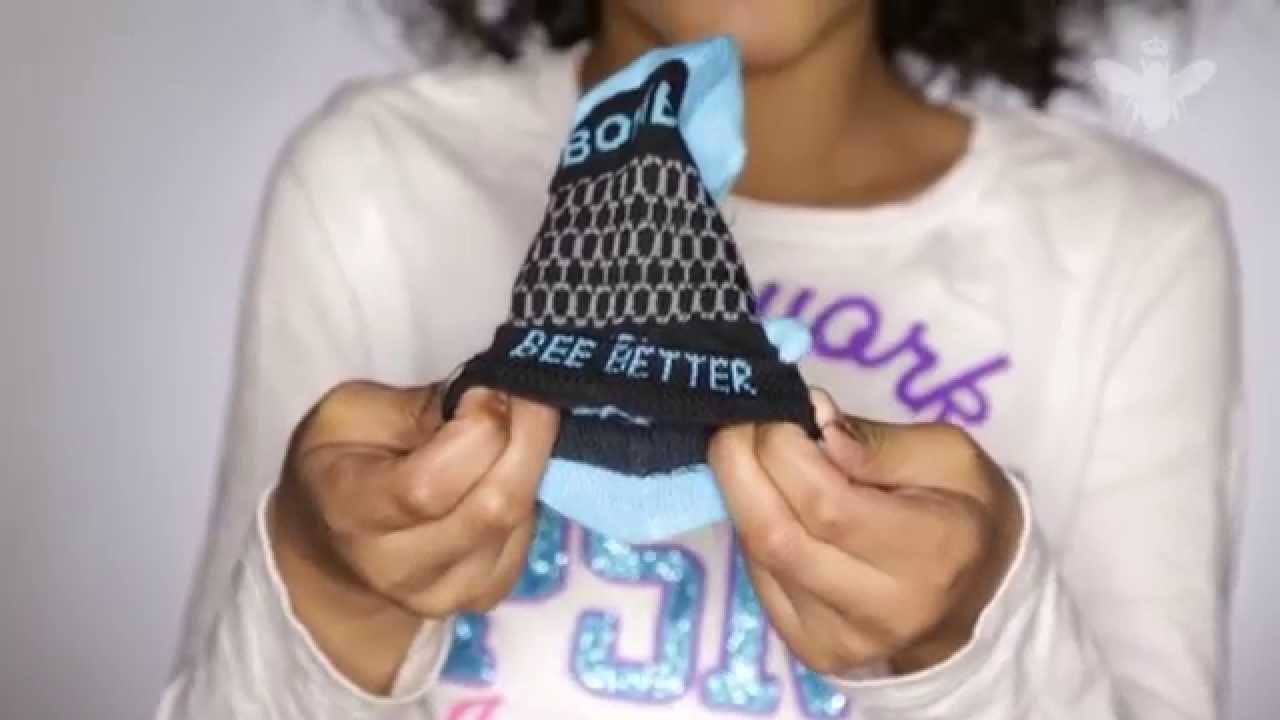 Bombas Kids. Better Socks. Better World. Bee Better. - YouTube