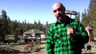 Colorado Family Camping:  Pie Iron Grilled Ham & Cheese Sandwiches
