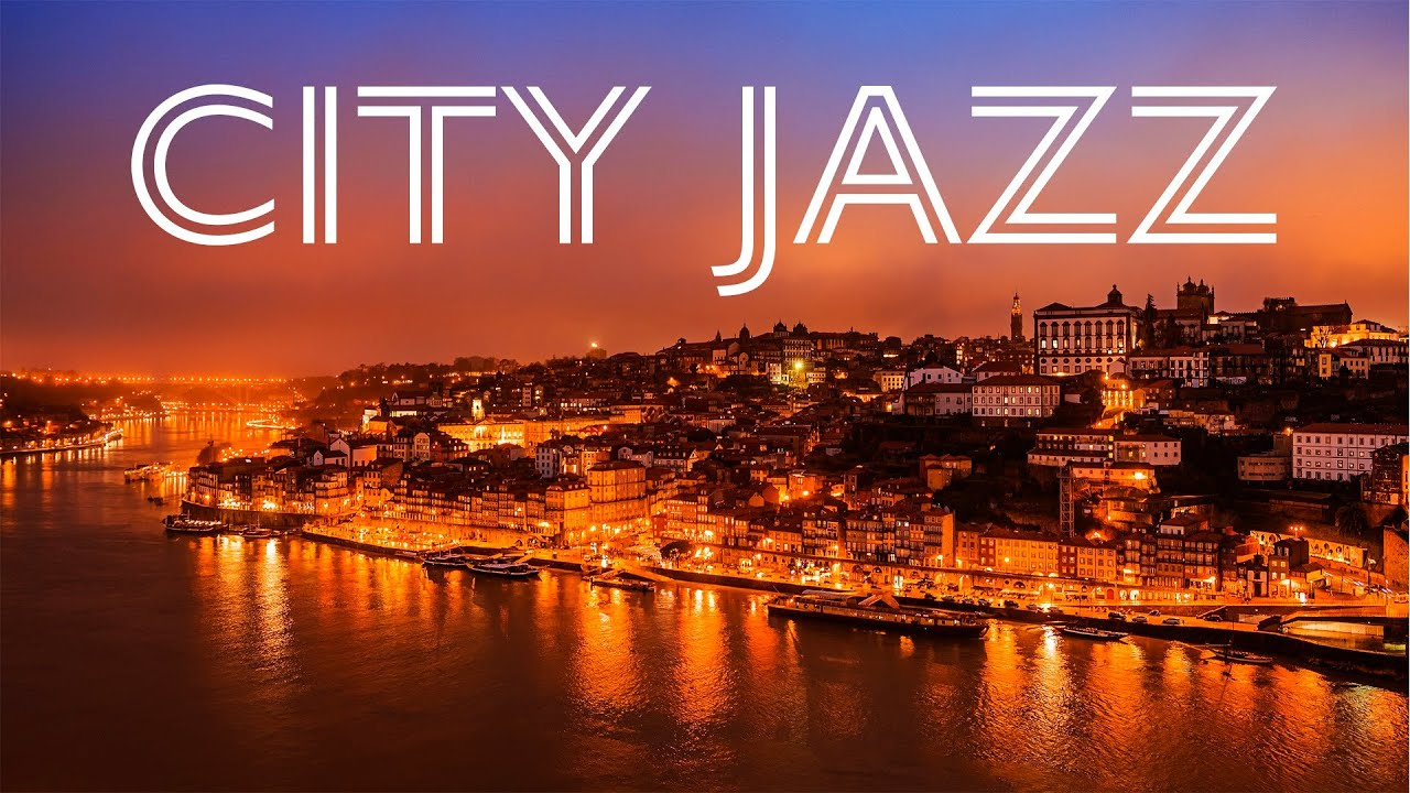 Night City Jazz - Relaxing Background Chill Music - Smooth Jazz for Sleep, Work, Relax