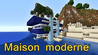 Minecraft - Maison moderne ! #3 joyeux noël :) !