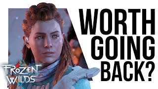 What does Horizon: Frozen Wilds offer returning players?