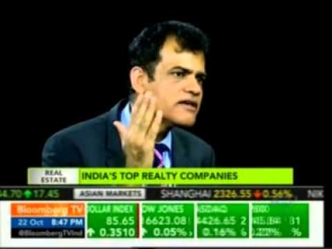 Bloomberg TV on India's Real Estate Sector