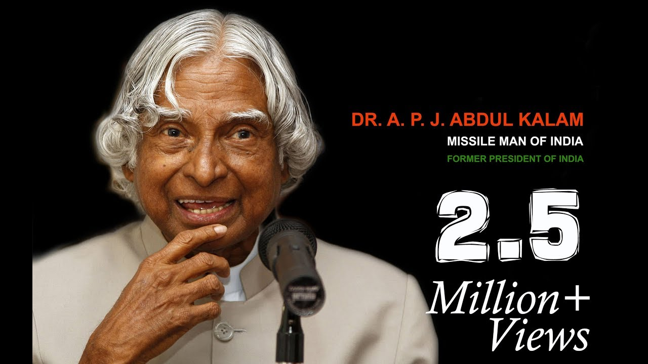 a5c69053784df6 Dr. APJ Abdul Kalam Biography in Hindi By Gulzar Saab Motivational Story
