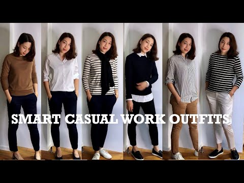smart-casual-work-outfits-|-lookbook-uniqlo-h&m-chanel-hermes