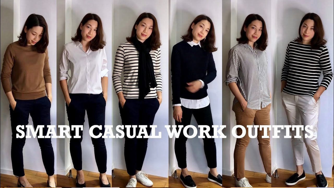 SMART CASUAL WORK OUTFITS | LOOKBOOK UNIQLO H&M CHANEL HERMES 1