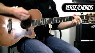 Semi Charmed Life - Third Eye Blind - Acoustic Guitar Cover - How To Play Mp3