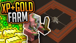 Gold & XP Farm (Tutorial) ✨ Level 0-30 in 74 Sekunden! ✨Minecraft 1.16.5 ✨ ErikOnHisPeriod