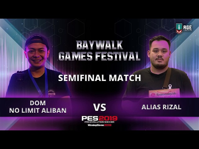 Adu Skill di Semifinals 2 Baywalk Games Festival 2018