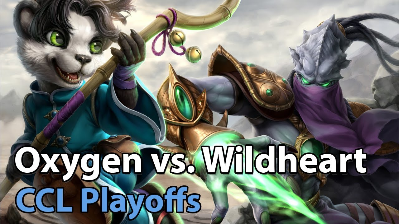 CCL Playoffs: Wildheart vs. Oxygen - Heroes of the Storm 2021