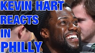 Kevin Hart Courtside In Philly!! | 01.24.17