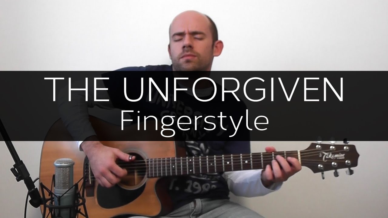 The Unforgiven Metallica Acoustic Guitar Solo Cover Violo