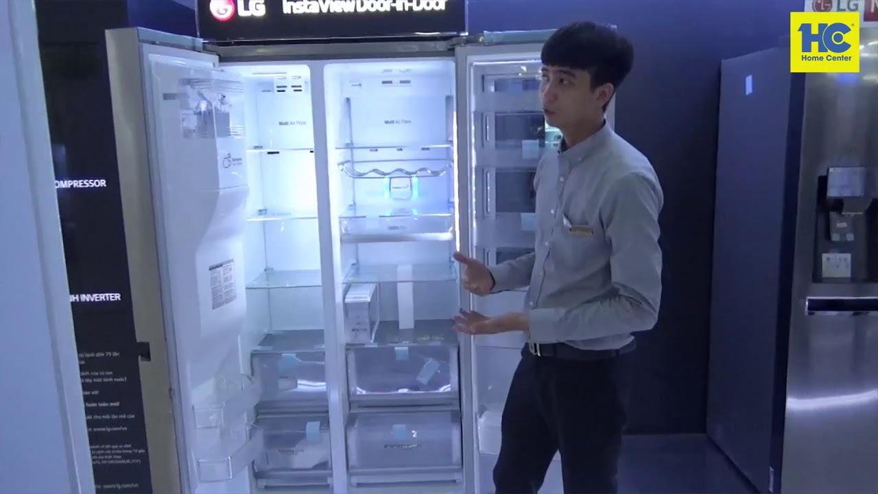 Giới thiệu Tủ lạnh Instaview Door-in-Door GR-X247JS
