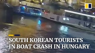 South Korean tourists victims of deadly boat crash in Hungary