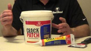 Red Devil Crack Patch - Acrylic Spackle