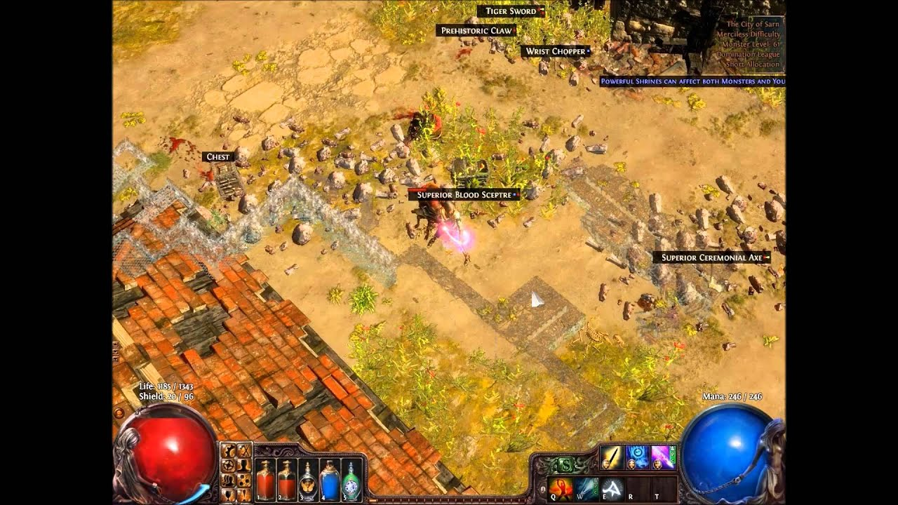 path of exile how to play scion