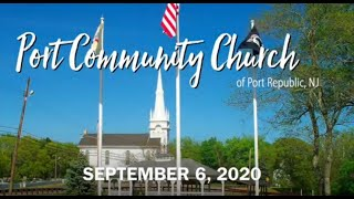 Port Community Church 09 06 20