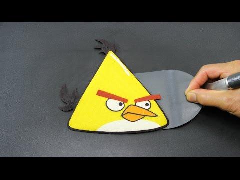 PANCAKE  Angry Birds  Yellow Bird Chuck  Tiger Tomato