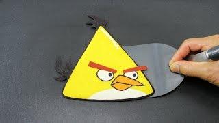PANCAKE - Angry Birds | Yellow Bird Chuck by Tiger Tomato