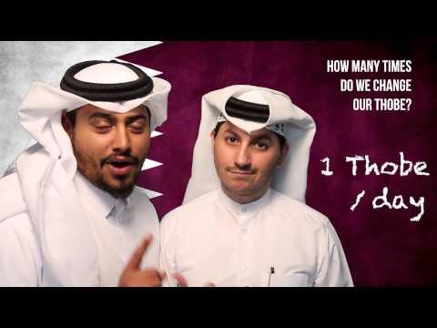 #QTip: How often do Qatari's change their thobe?